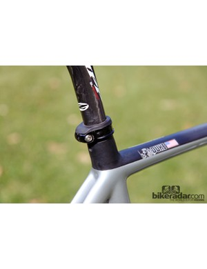 Marin includes a handy rubber seal on the seatpost collar