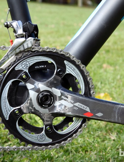 We're seeing a definite trend toward smaller chainrings even at the top levels of cyclocross racing