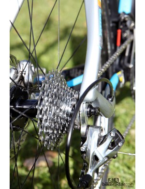 The SRAM PG-1170 cassette is more mud friendly than the company's X-Glide 1190 model