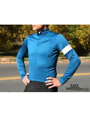 Rapha winter wear: The winter jersey incorporates a hardshell-like front into a heavier jersey