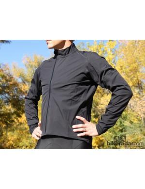 Rapha winter wear: The hardshell jacket is wind- and waterproof