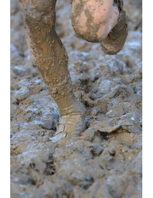 West Flanders mud is notoriously challenging and very sticky