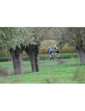 Any field in Belgium can be pressed in to service as a cyclo cross course