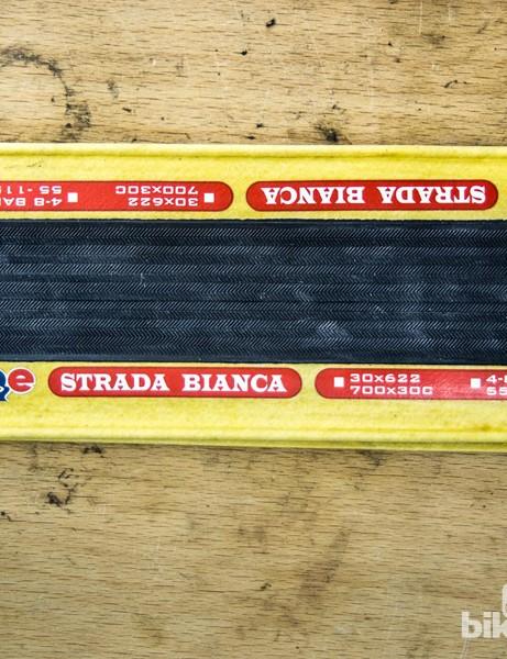 Challenge Strada Bianca open clincher tyres
