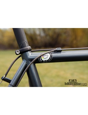 Even steel frames like this are subject to UCI scrutiny