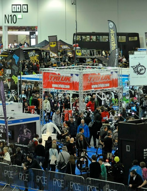 The London Bike Show is one of the UK's biggest bike expos