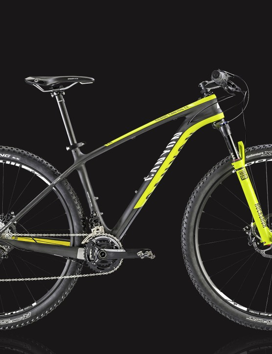 Canyon and the London Bike Show have teamed up to offer visitors a chance to win this race-ready CF SL 7.9 29er