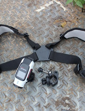 VIRB buckles and mounts have been arriving over the last couple of months; today the camera turned up