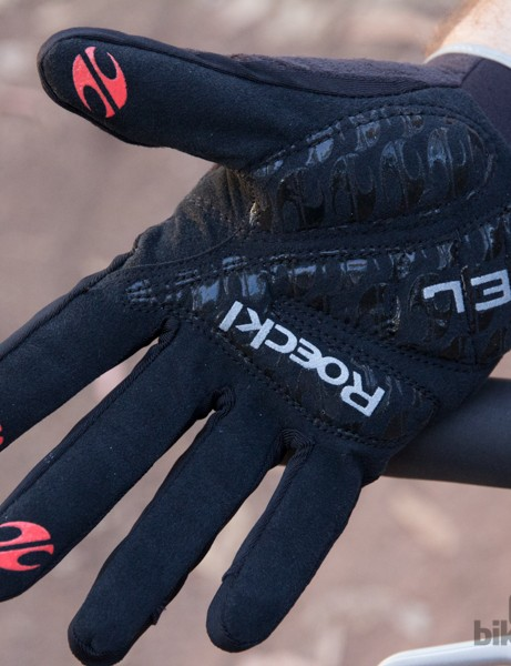 There are few mountain bike gloves as well padded as the Roeckl 820. We normally pick gloves with little padding in order to increase bar feel, the gel padding in these gloves increased our comfort with effecting handling