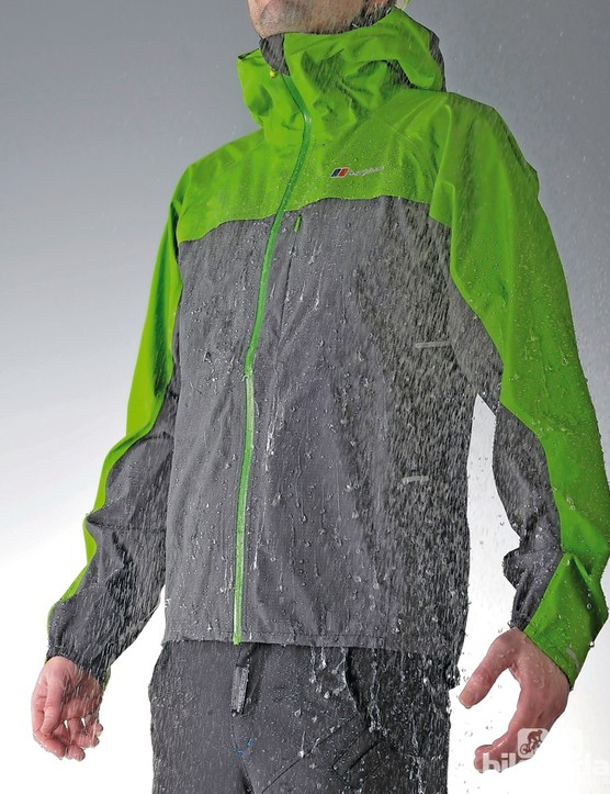 The Gore-Tex Active fabric is both waterproof and breathable