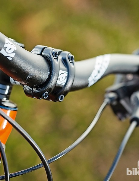 Orange Crush: narrow bars need a bit more effort to get you turning