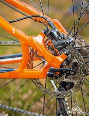 Avid Elixir 1 brakes are cheap but reliable and good