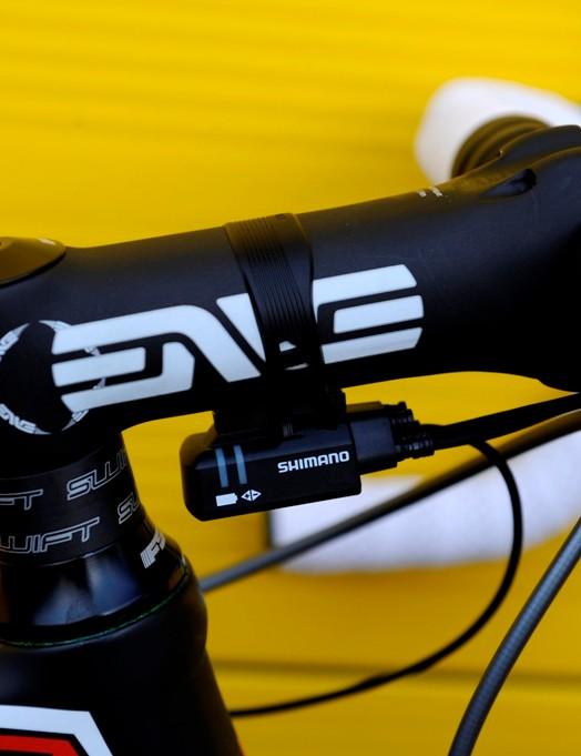 That ENVE stem is 130mm