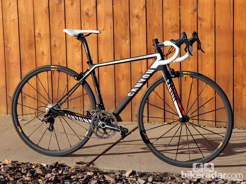 Canyon's revamped Ultimate CF SLX 9.0 frame is nearly 200g lighter than before - and supposedly more efficient and comfortable