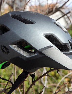 The new Bell Stoker helmet is a bargain priced version of the company's Super. It may have fewer vents but it's also lighter