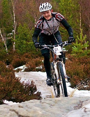 Icy trails on the Strathpuffer