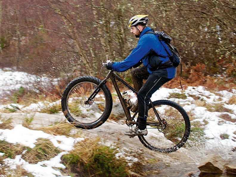 Strathpuffer: fat tyres may help