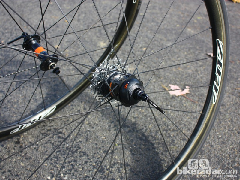 PowerTap GS Zipp 202 Bluetooth wheelset: Complete weight is 1,510g for the pair without skewers