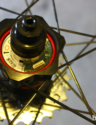 PowerTap GS Zipp 202 Bluetooth wheelset: In early testing, the GS appears to have the same reliability as other PowerTaps we have tested over the years