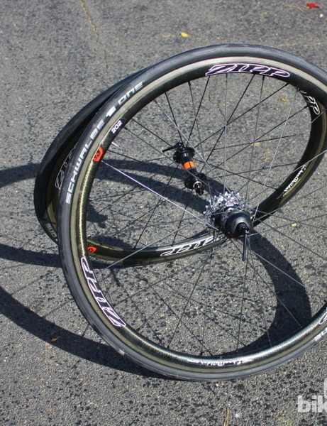 PowerTap GS Zipp 202 Bluetooth wheelset: PowerTap is hoping to erase the distinction of 'training wheel' and 'race wheel'