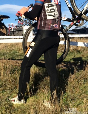 BikeRadar cyclocross zip-up tights battle: We prefer the Champion System zip-up tight and can definitely recommend it for teams