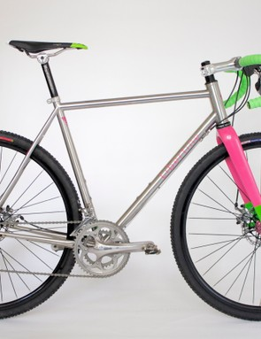 The Libertine cross bike, rendered in Reynolds 853