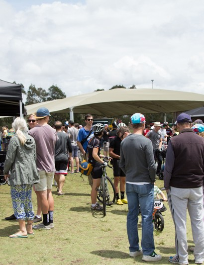 Rapha SuperCross gathered a crowd