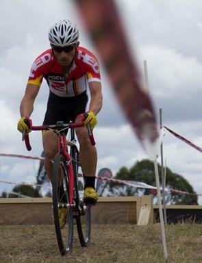 Eventual elite men's winner - Focus Bikes riderm Shaun Lewis from South Australia