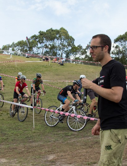 Nick Bonich - the man behind 'The Spokes People' who put on the event