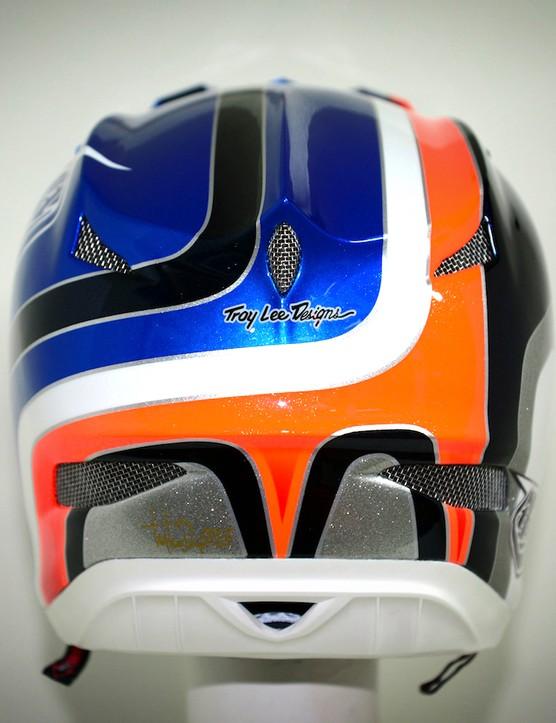 Nico Vouilloz' custom Troy Lee Designs D3 helmet