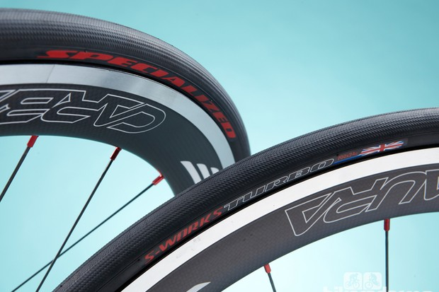 Specialized S-Works Turbo GB Ltd tyre: same as the standard S-Works turbo, with the exception of the logo