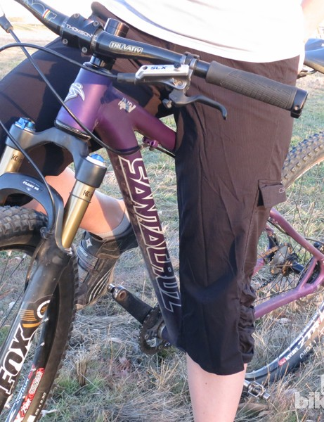 These US$15 3/4-length shorts are great for early and late season mountain bike rides