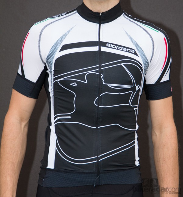 Giordana Trade FR-C Predator short sleeve jersey