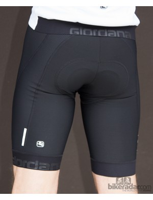 The Giordana Laser bib shorts are form-fitting and compressive