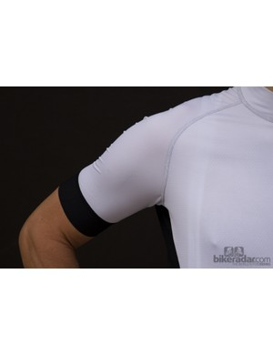 Giordana Laser jersey: sung in the arms but strangely loose in the torso