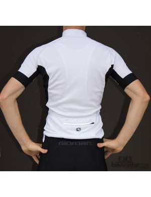 The Giordana Laser wasn't a tight fitting jersey, but was certainly comfortable