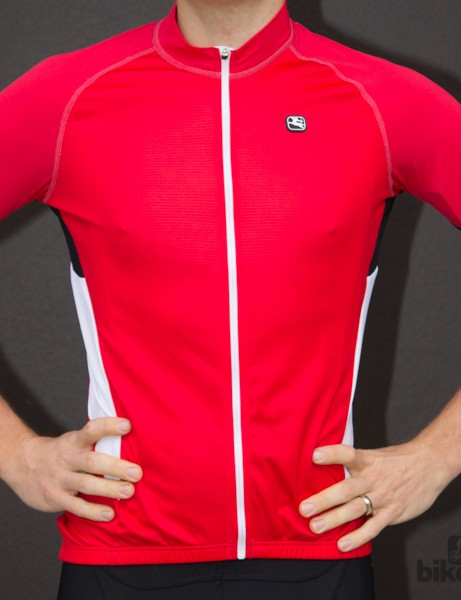 Giordana Laser jersey is available in a few colours - we tested the white and the red