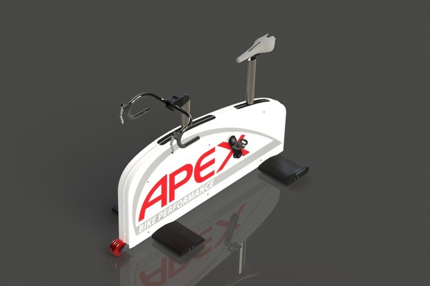 The Apex Fit Bike accesses power data to fine tune a rider's position