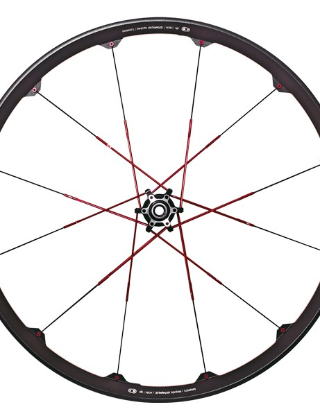 The Opium is CrankBrothers downhill wheelset. It is only offered in a single version and only for 26in wheels. The Opium 3 has a claimed weight of 2,100g, an internal width of 26mm and retails for US$900/€900