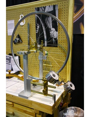Chris King is building its wheels on these incredible made-in-Germany P&K Lie truing stands