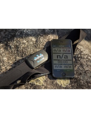 Wahoo Fitness Blue HR heart rate strap - currently only for iPhone