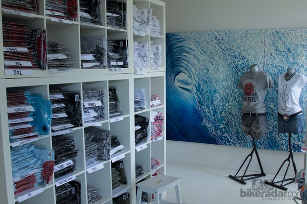 The Cyclogy studio, offices and distribution centre are small but full of creativity and passion