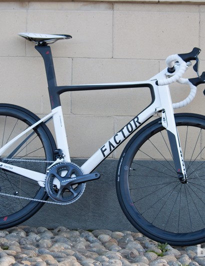The Factor Vis Vires Ultegra Di2 is a great looking machine