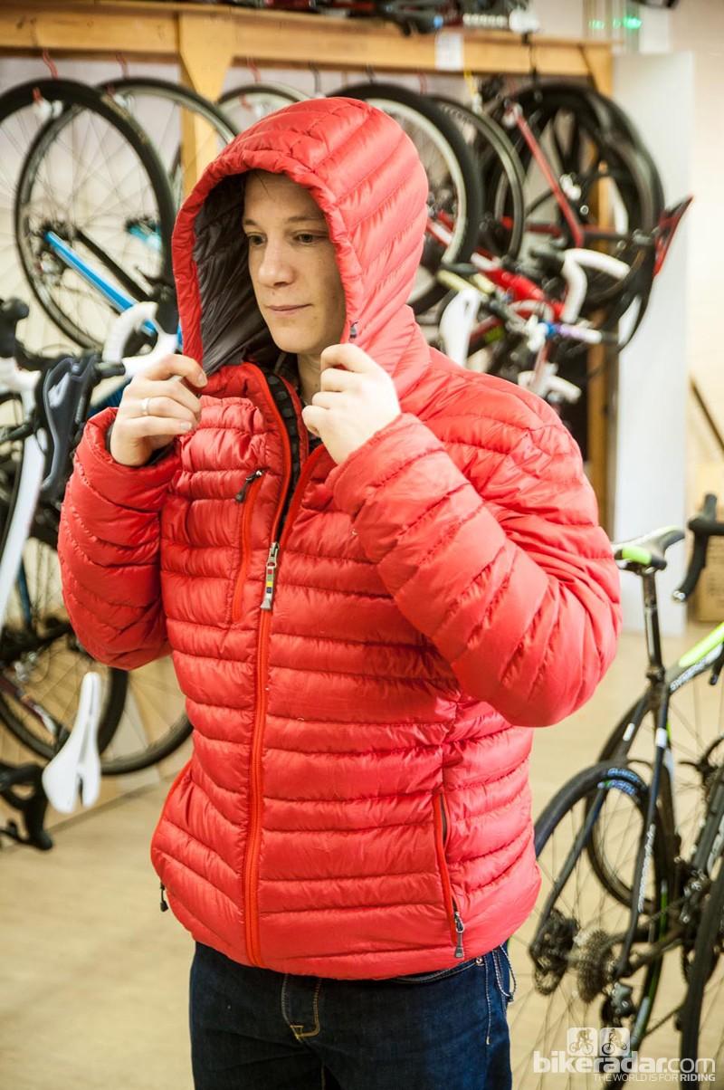 Sherpa Baruntse hooded down jacket