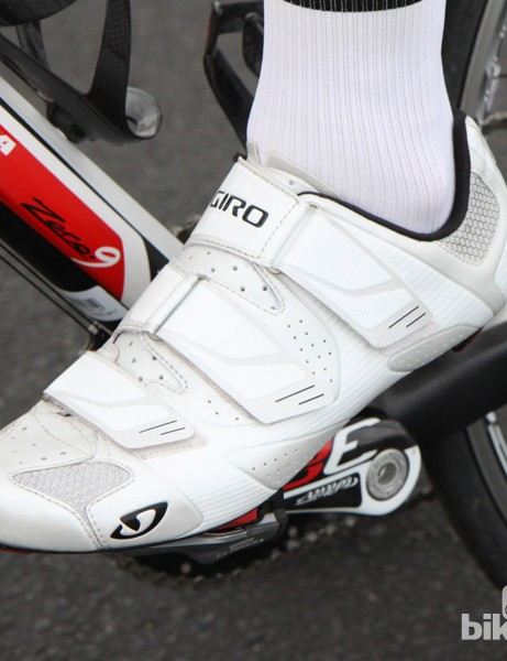 Giro Superlight SLX: Among the lighter road shoes on the market
