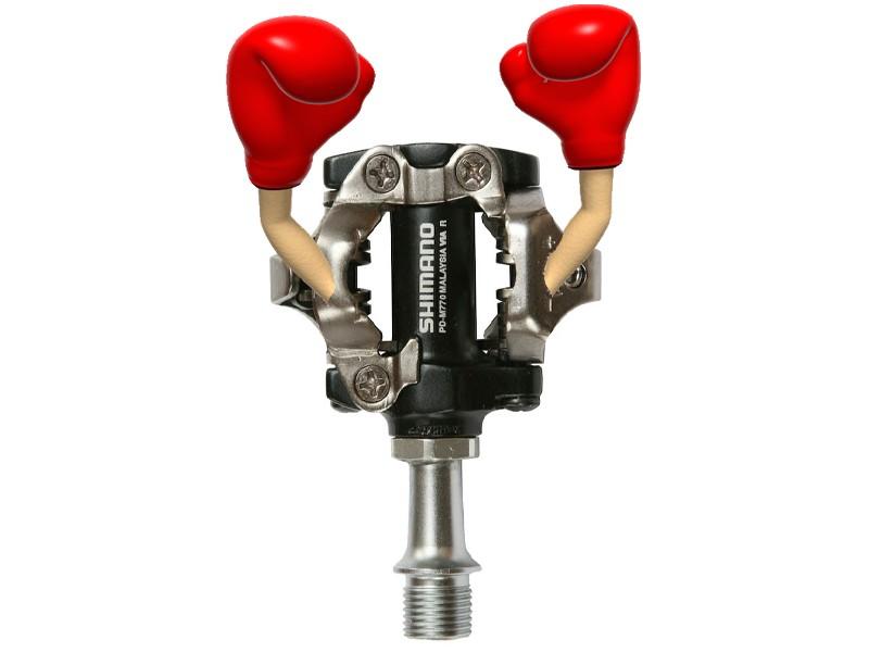 BikeRadar Mountain Bike Pedal Battle: Shimano XT wins!