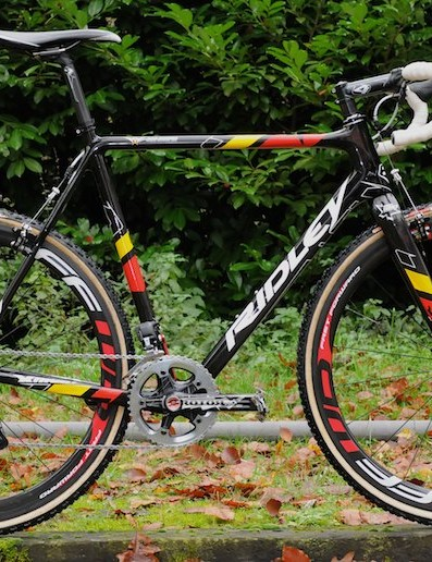 Belgian Champion Klaas Vantornout's Ridley X-Night