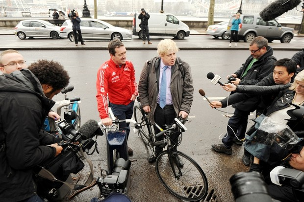 Boardman still stands shoulder to shoulder with Boris Johnson over London cycling plans