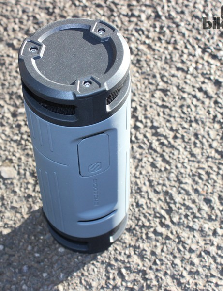 The boomBOTTLE is about the same size as a 750ml waterbottle