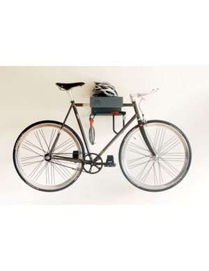 The Cyclehoop Bike Shelf: ideal for tidying away bikes in small city flats